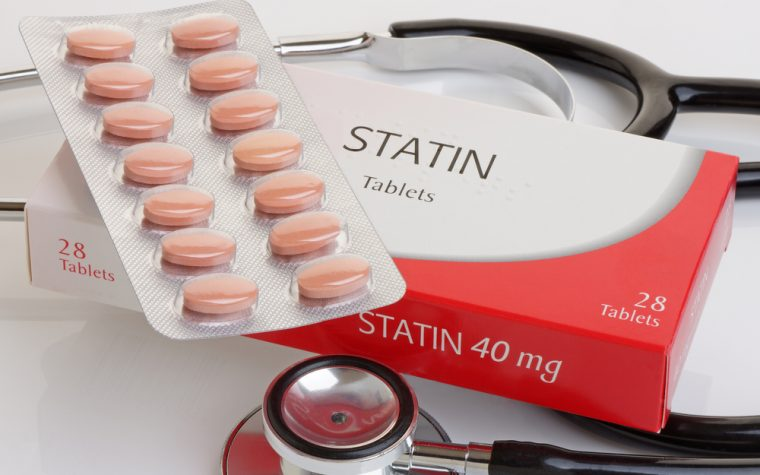 statins and survival in AS